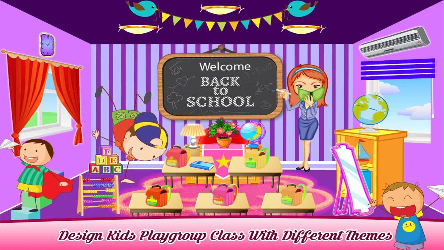 Classroom Decoration Games Free ~ Teacher classroom decoration apk download free role