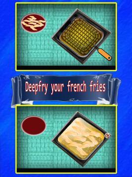 Burger Fast Food Cooking Games apk screenshot