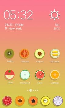 Fresh Fruits  - Solo Launcher Theme poster