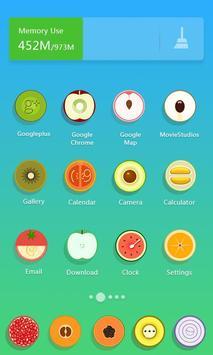 Fresh Fruits  - Solo Launcher Theme screenshot 1