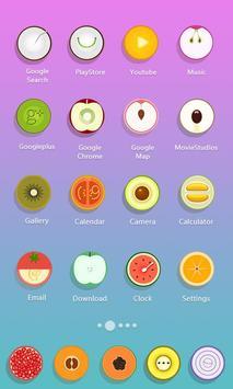 Fresh Fruits  - Solo Launcher Theme screenshot 2