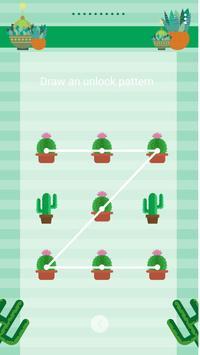 Cactus - Solo Locker (Lock Screen) Theme apk screenshot