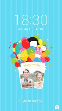 Balloon - Solo Locker (Lock Screen) Theme poster