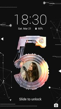 Mechanical - Solo Locker (Lock Screen) Theme poster