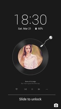 Record - Solo Locker (Lock Screen) Theme poster