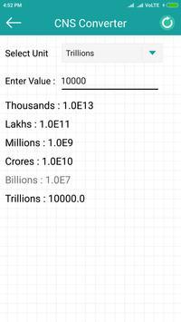 Currency Numbering Converter apk screenshot