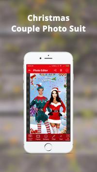 Christmas Couple Photo Frame: Christmas Dp maker screenshot 2