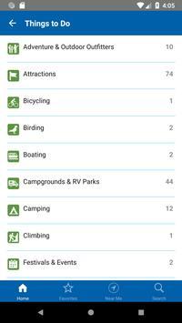 Blue Ridge Parkway Travel Planner syot layar 2