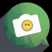 Funny Emoji Camera icon