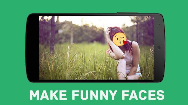 Funny Emoji Camera poster