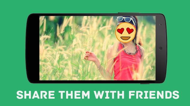 Funny Emoji Camera apk screenshot