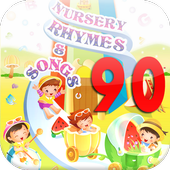 90 Nursery rhymes songs icon