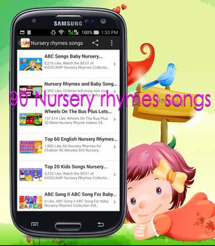 90 Nursery rhymes songs apk screenshot