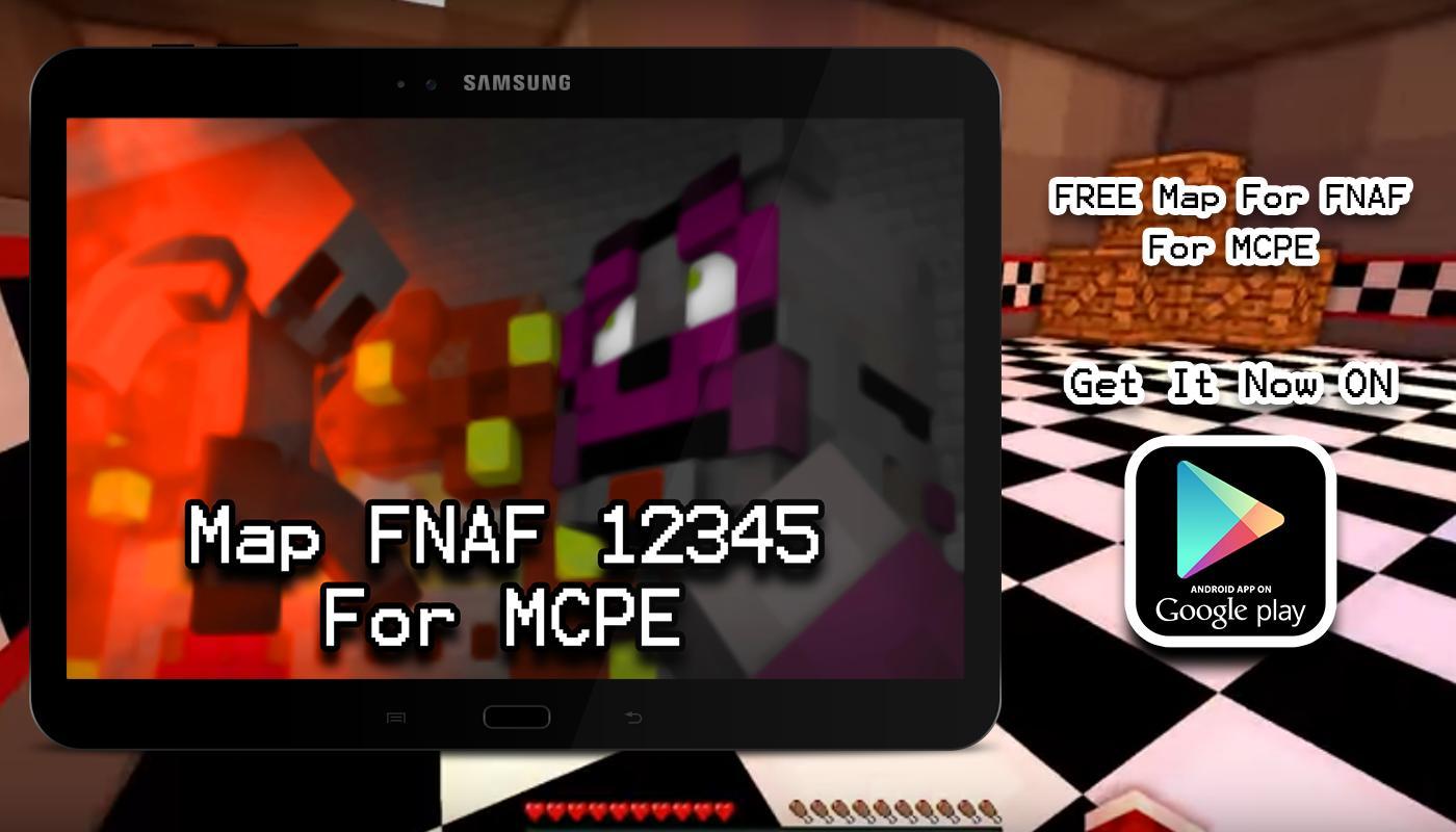 Maps FNAF Sister Location MCPE Apk Screenshot