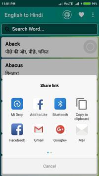 English to Hindi screenshot 3