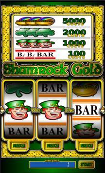 Shamrock Gold slot machine screenshot 2