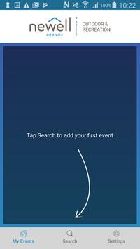 Newell Brands Events App screenshot 2