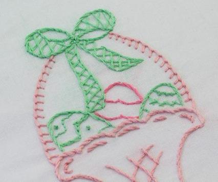 New Embroidery Patterns poster