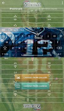 New England Patriots Keyboard apk screenshot