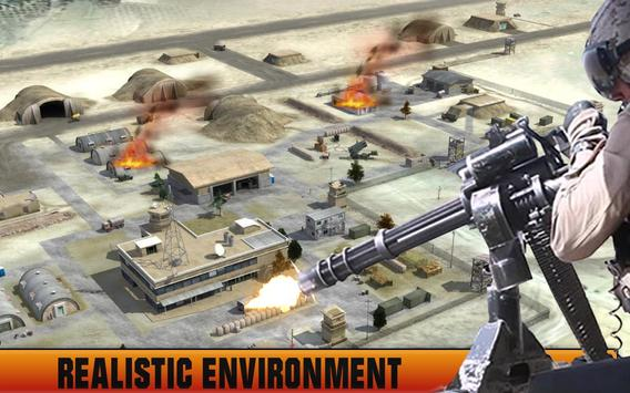 Helicopter Shooting Airstrike poster