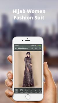 Hijab Women Fashion Photo Frame: Hijab Women Suit screenshot 3