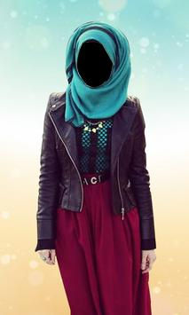 Hijab Women Fashion Photo Frame: Hijab Women Suit screenshot 1