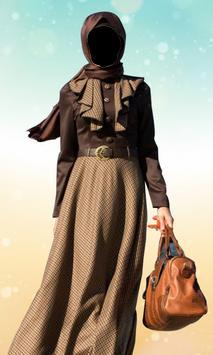 Hijab Women Fashion Photo Frame: Hijab Women Suit screenshot 2