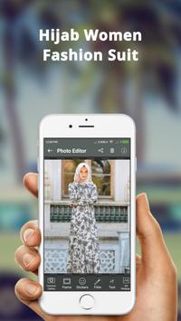 Hijab Women Fashion Photo Frame: Hijab Women Suit screenshot 4