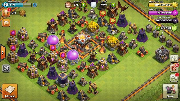 FHX V7 COC apk screenshot