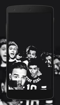 One Direction Wallpapers HD 4K capture d'écran 1