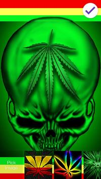 Marijuana Ganja Neon Lock apk screenshot