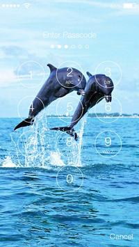 Dolphin Sea HD Lock screenshot 1