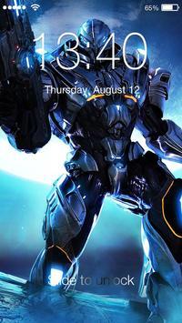 Transformer Robot Lock poster