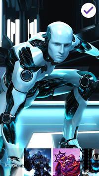Transformer Robot Lock screenshot 2