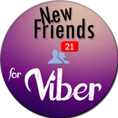 New Friends for Viber icon