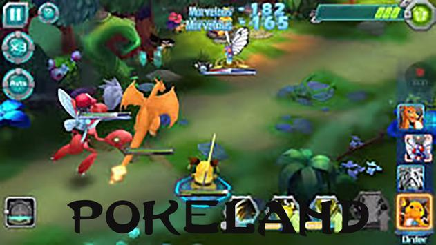 Game Tips For Pokeland poster