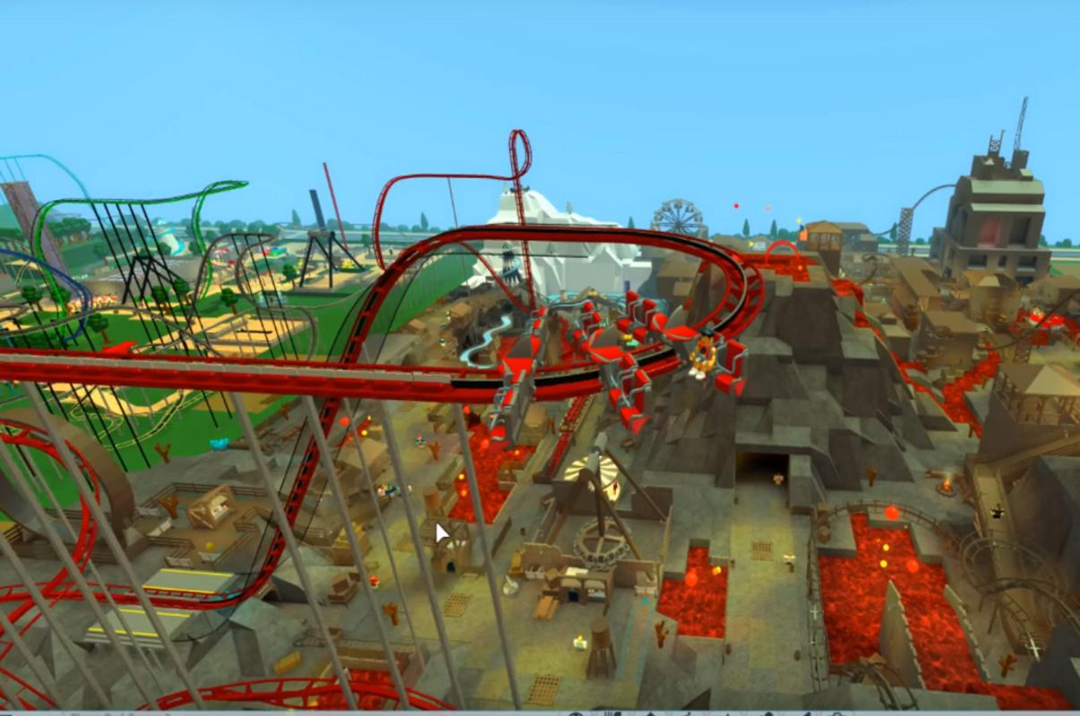 Скачать theme park tycoon 2