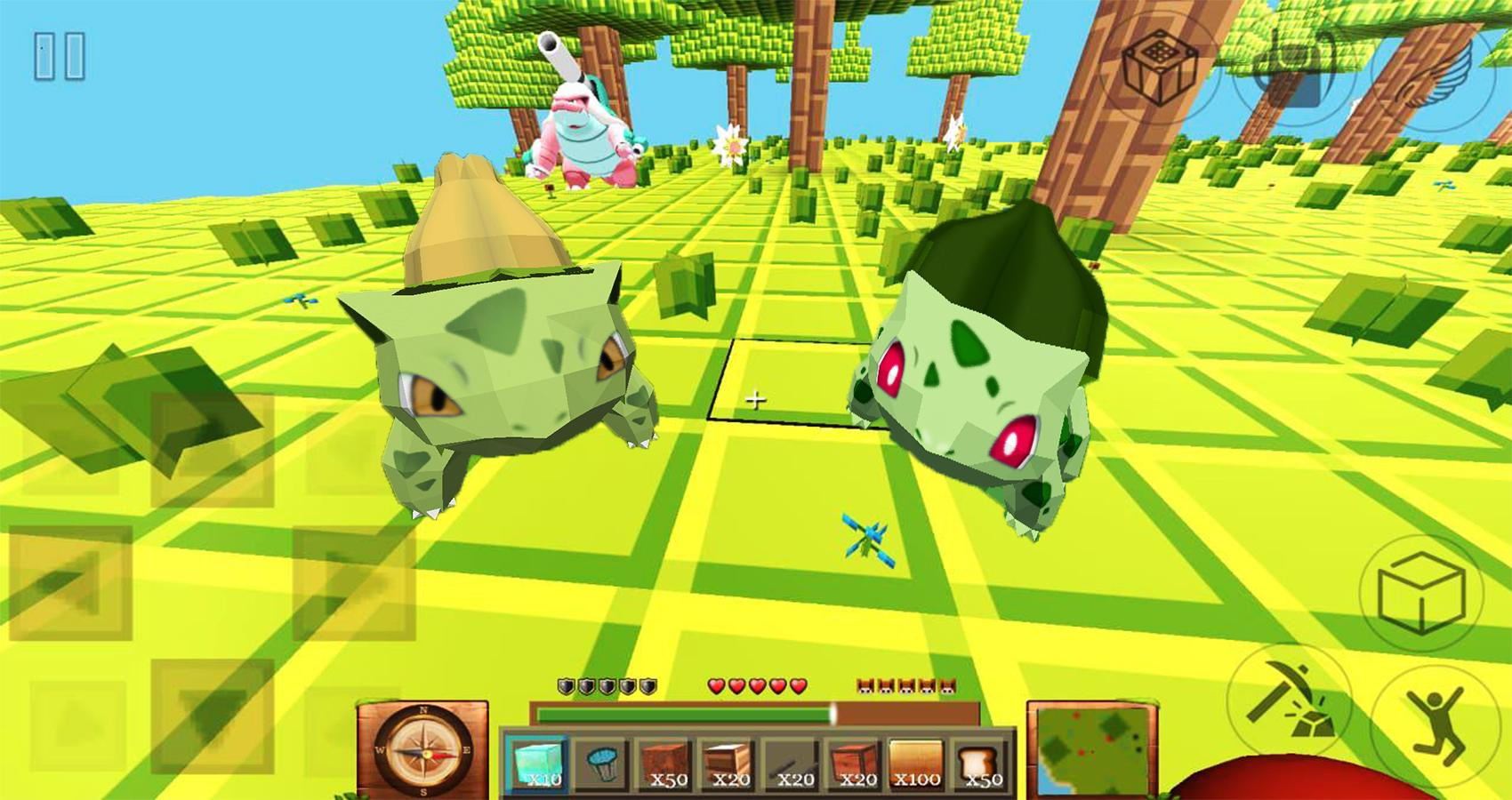 Pixelmon mod Survival: Pixel ARK craft & build 3D for