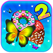 Pink Butterfly Crush 2 : Candy World  2018 icon