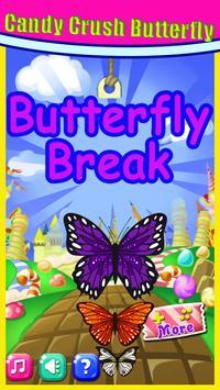 Pink Butterfly Crush 2 : Candy World  2018 screenshot 5