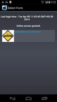Newgen Mobile Claims apk screenshot