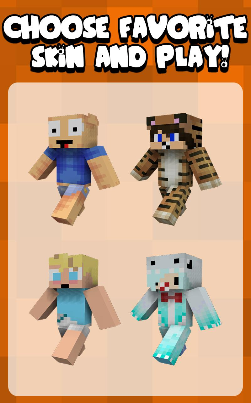 Baby Boy Skins for Minecraft para Android - APK Baixar