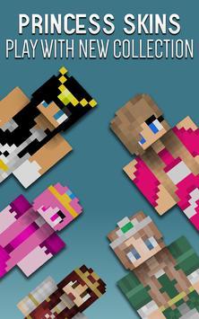 Princess Skins for Minecraft poster