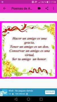 Poemas de Amor Y Amistad screenshot 14
