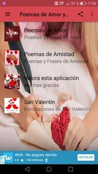 Poemas de Amor Y Amistad screenshot 2