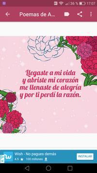 Poemas de Amor Y Amistad screenshot 6