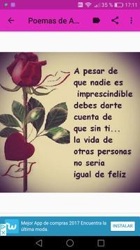 Poemas de Amor Y Amistad screenshot 8