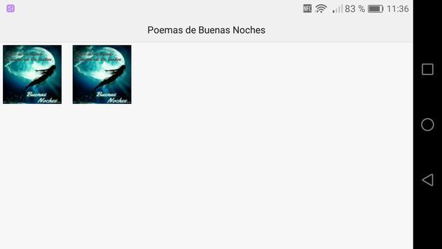 Poemas de Buenas Noches screenshot 11