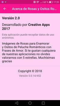 Rosas y Ositos Románticos screenshot 1