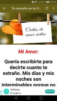 Cartas de Amor cortas apk screenshot